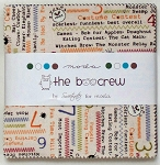 The Boo Crew Charm Pack by Sweetwater for Moda