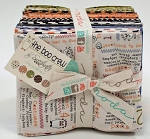 The Boo Crew 30 Fat Quarter Bundle by Sweetwater for Moda