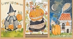Spooky Town 112.110.01.1 Multi Happy Halloweeny Panel by Blend