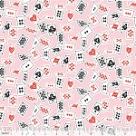 Wonderland 114.115.02.1 Pink Deck of Cards by Blend