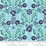 Grand Canal 27253-11 Aqua Giardinin by Kate Spain for Moda