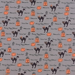 Spooky Delights 2900-14 Ash Grey Spooky Delight by Moda