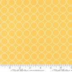 Sundrops 29014-23 Dark Yellow Circled by Corey Yoder for Moda