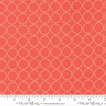 Sundrops 29014-27 Dark Coral Circled by Corey Yoder for Moda