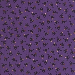 Spooky Delights 2902-16 Potion Purple Scaredy Cats by Moda