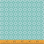 Uppercase 41824-1 Turquoise Ice Floral by Janine Vangool for Windham
