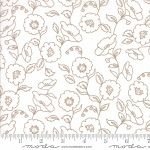 Olive's Flower Market 5032-11 Cloud Wallflowers by Moda