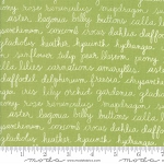 Olive's Flower Market 5033-15 Green Floriculture by Moda