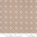 Olive's Flower Market 5034-16 Taupe Cathedral Lace by Moda