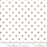 Olive's Flower Market 5036-21 Taupe Cloud Parisian Dots by Moda