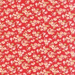 Little Ruby 55137-11 Red Little Daisy by Bonnie & Camille for Moda