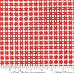 Handmade 55142-21 Red Star Quilt by Bonnie & Camille for Moda