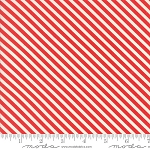 Handmade 55145-11 Red Candy Stripe by Bonnie & Camille for Moda