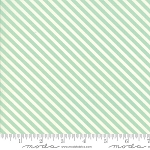 Handmade 55145-12 Aqua Candy Stripe by Bonnie & Camille for Moda