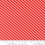 Handmade 55145-23 Red Coral Candy Stripe by Bonnie & Camille for Moda