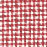 Mama Said Sew Volume II 5616-12 Apple Red Gingham by Moda