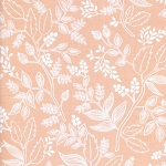 Les Fleurs 8005-02 Peach Queen Anne by Rifle Paper Co for Cotton + Steel