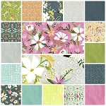 Blush & Blooms 18 Fat Quarter Set by Iza Pearl for Windham
