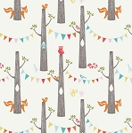 Circa 52 Organic JM14 Woodland Party by Monaluna for Birch