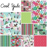 Cool Yule 10 Fat Quarter Set by Josephine Kimberling for Blend