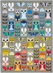Fancy Forest Quilt Kit by Elizabeth Hartman for Kaufman