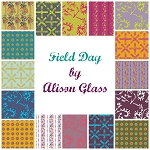 Field Day 16 Fat Quarter Set by Alison Glass for Andover