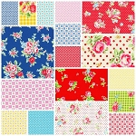Flower Sugar 18 Fat Quarter Set by Lecien