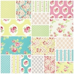 Lola 18 Fat Quarter Set by Tanya Whelan for Free Spirit
