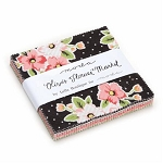 Olive's Flower Market Charm Pack by Lella Boutique for Moda