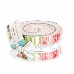 Olive's Flower Market Jelly Roll by Lella Boutique for Moda