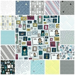 Paper Obsessed 17 Fat Quarter Set by Heather Givans for Windham