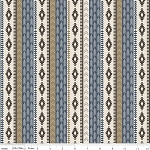 High Adventure C5552 Blue Tribal by Design by Dani for Riley Blake