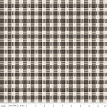 High Adventure C5553 Brown Plaid by Design by Dani for Riley Blake