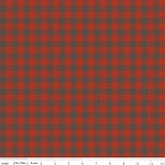 High Adventure C5553 Red Plaid by Design by Dani for Riley Blake