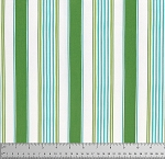 Merry Mistletoe PWDF235 Green Linen Stripe by Free Spirit