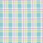 Zoey's Garden PWTW120 Blue Faux Plaid by Tanya Whelan for Free Spirit