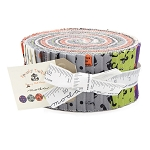 Spooky Delights Jelly Roll by Bunny Hill for Moda