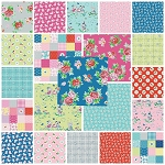 Strawberry Biscuit 21 Fat Quarter Set by Elea Lutz for Penny Rose
