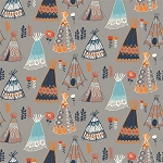 Wildland Organic MI-06 Shroom Teepees by Miriam Bos for Birch EOB