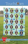 Touchdown Quilt Pattern by Little Cluck Cluck Sew