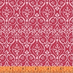 Two by Two 33576-5 Red Pink Damask by Windham Fabrics
