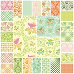 Up Parasol 27 Fat Quarter Set by Heather Bailey for Free Spirit