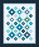 Up Square Down Square Quilt Pattern by Cozy Quilt Designs