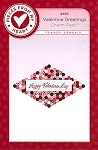 Valentine Greetings Table Topper Pattern by Sandy Gervais