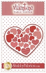 Valentine Table Topper Pattern by Shabby Fabrics
