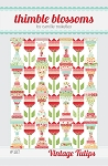 Vintage Tulips Quilt Pattern by Thimble Blossoms