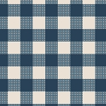 Wild & Free WFR-141 Folk Plaid by Maureen Cracknell for Art Gallery