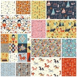 Wildland Organic 14 Fat Quarter Set by Miriam Bos for Birch