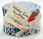 Windsor Lane Junior Jelly Roll in Blue by Bunny Hill for Moda