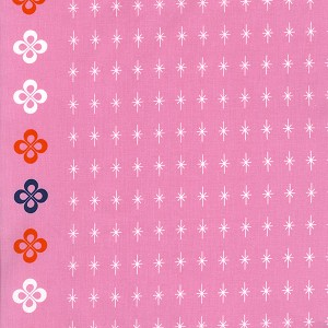 Mustang 0005-001 Pink Star by Melody Miller for Cotton + Steel